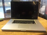 Macbook Pro 17 i5 2.5GHz A1297 8GB Working perfect!