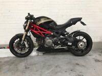 Ducati monster 2011 14k miles aftermarket (catC)