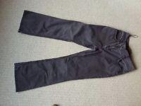 Per una brown trousers size 12r brown