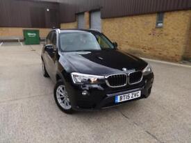 BMW X3 Xdrive20d SE (black) 2015