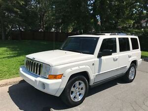 2006 Jeep Commander Limited 4X4. DVD, Toit Ouvrant, Navigation