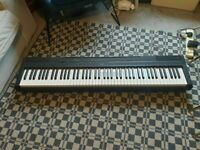 Yamaha P-115 Portable Digital Piano With Weighted Keys + Power cable BROKEN CONDITION