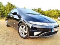 2007 Honda Civic 1.8 i VTEC ES - NEW MOT 08/17 - Panoramic Sunroof, Auto Sensor Rain & Light + More