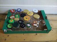 Free Jam Jars for Pickling, Jam, Marmalade etc.