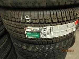 225/65R17 SINGLE ONLY NEW UNIROYAL A/S TIRE