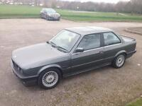 1990 BMW E30 320i Auto 99k Dolphin Grey Good Spec Take A Look