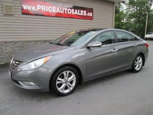 2012 Hyundai Sonata LIMITED-HEATED LEATHER-SUNROOF-REMOTE START!