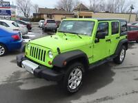 2012 Jeep Wrangler Unlimited Sahara 2 Toits