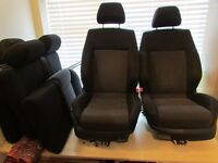 Mk4 Golf/Bora GTI 5 Door Seats - Charcoal Grey