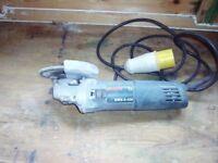 """Bosch GWS 9-125 4"""" Angle grinder 110 Volt"""