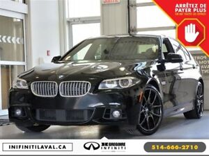 2015 BMW 550I 550i XDrive Pano GPS Cuir Camera Bluetooth