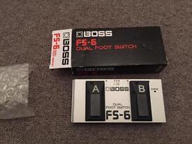 Boss FS-6 Dual Foot Switch