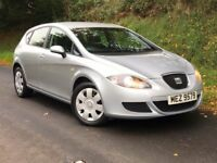 Mint 2007 Seat Leon 1.6 Reference 5dr, trade in considered at trade prices, credit cards accepted.