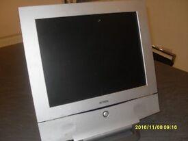 15 inch flat screen monitor.