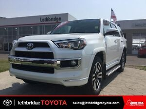 Toyota Certified 2016 Toyota 4Runner Limited 7-Pass - EXT WTY!