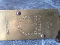 Antique Spring balance scales