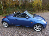 Ford StreetKa convertible - practical and great fun all year round.