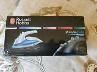 Russell Hobbs travel iron. New unused and boxed.
