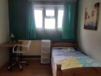 Lovely medium size room available for short let min. 2wks