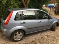 Great small car for sale. Fiesta 1242cc 2007. Good condition. 66,850 miles. Year's MOT