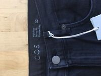 COS pants high rise, ankle fit size 32