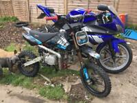 Stomp 140 welsh race pit bike px/swap welcome