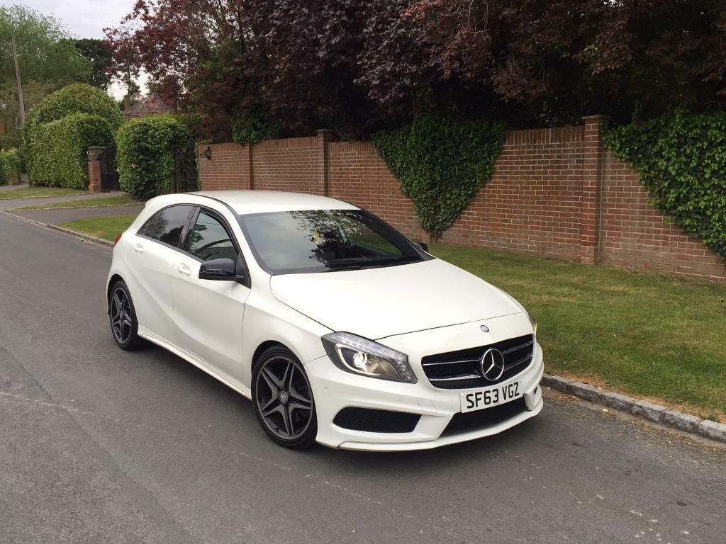 2013 mercedes a class a220 cdi amg spec night pack full service history fully loaded spec in. Black Bedroom Furniture Sets. Home Design Ideas