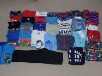 AGE 5-6 - LARGE BUNDLE OF BOYS CLOTHING - 31 ITEMS - 2 BNWT
