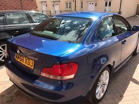 2008 BMW 120d 1 Series coupe 177bhp