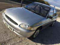 Ford Escort 1.4 with LONG MOT november 2017 plus tow bar very clean for its age good driver