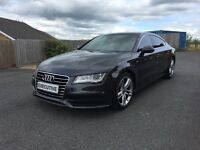 2012 AUDI A7 S-LINE MULTITRONIC DARK GREY/BLACK - FASH - LOW MILEAGE - MUST SEE