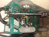 for sale garden trailer good condition ready to go