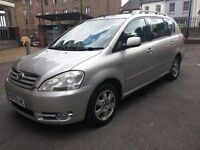 TOYOTA AVENSIS VERSO VVTI 2.0, silver, 7 seater