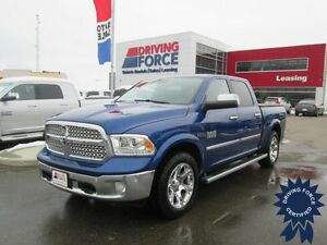 2014 Ram 1500 Laramie 4x4 w/Woodgrain Trim, Adjustable Pedals