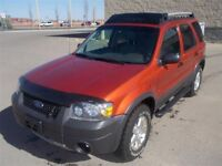 2006 Ford Escape XLT 4 DR 4WD LEATHER LOADED