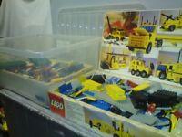 2 Vintage Lego sets circa 1975