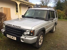 2004 (04) Land Rover Discovery 2 - Pursuit Spec, TD5, Manual Gearbox, 7 Seats
