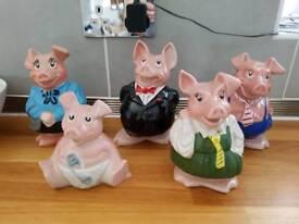 Natwest Pigs - Full set
