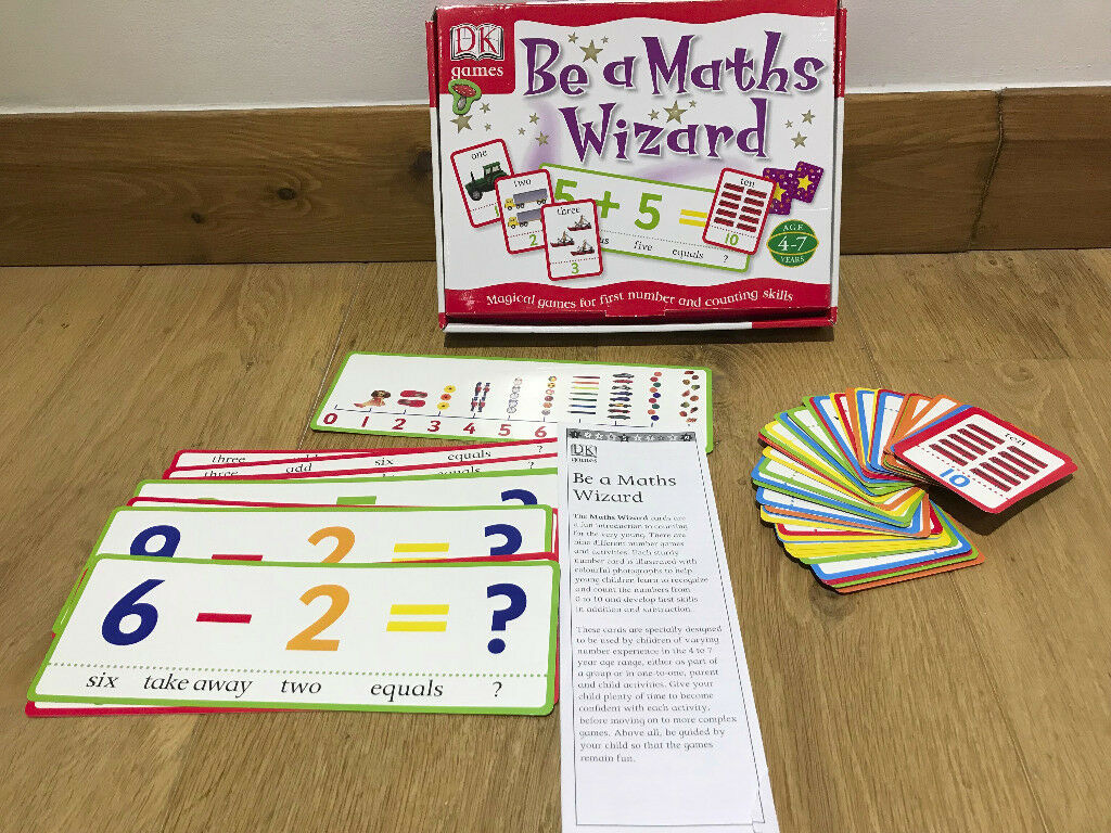 Be A Maths Wizard Game - Aged 5-7 Years