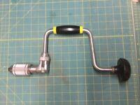 Stanley hand brace drill
