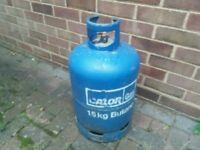CALOR GAS 15kg BUTANE BOTTLE/CYLINDER