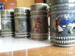 Beer Mugs-Mint condition
