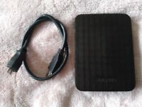 Samsung M3 Portable 500GB External Hard Drive Used in Perfect Working Condition