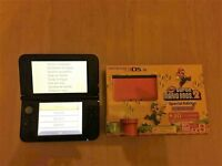 Nintendo 3DS XL Super mario bros.2 special edition red/black