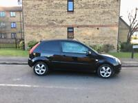 2008 Ford Fiesta 1.2 Zetec – 70K Low Mileage, Petrol, Manual, 3 Door, MOT, Black, Alloys, Cheap Car