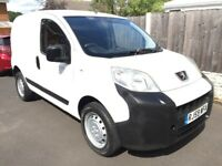 2010 BIPPER VAN 1.4HDI FULL 12 MONTHS MOT FULL SERVICE HISTORY 4 NEW TYRES FITTED BARGAIN PRICE