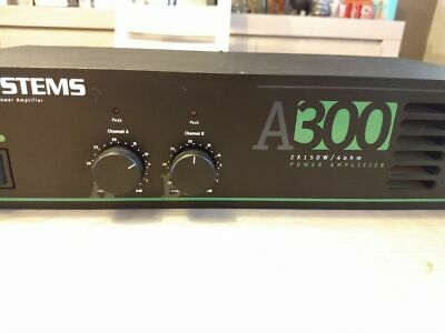 JB Systems A300 versterker - amplifier