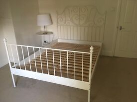 Double bed structure - like new
