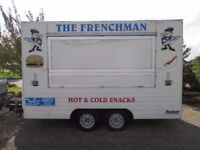 Burger Van Trailer - Catering Food Wagon - Great Business opportunity