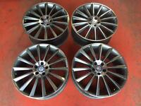 "20"" MERCEDES C63 AMG ALLOY WHEELS MULTISPOKE E CLASS S CLASS C CLASS"